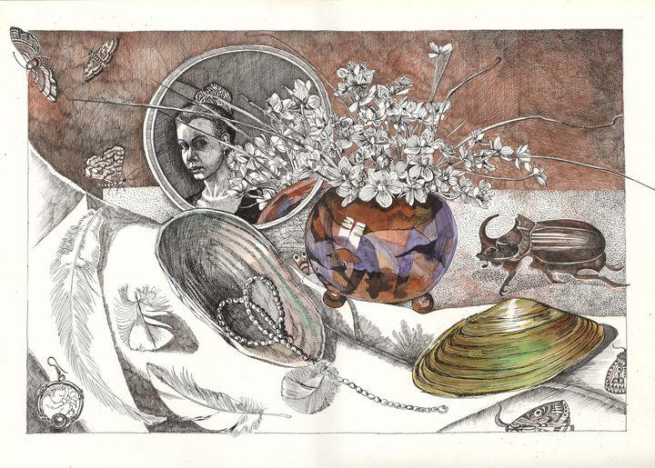 Still life with a mirror - AlexandraDvina