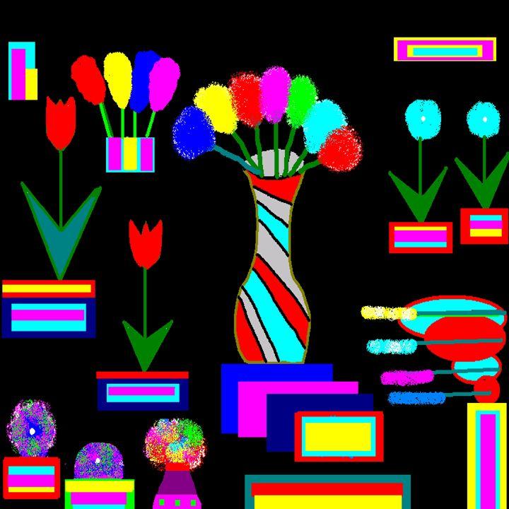 Flowers Of Many - Patsy B