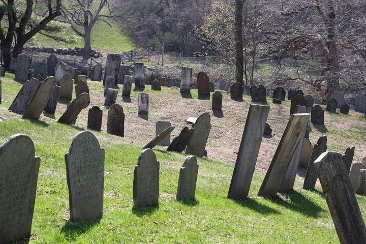 old headstones - Elizabeth Manning