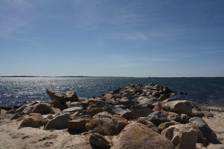 Beach rocks - Elizabeth Manning