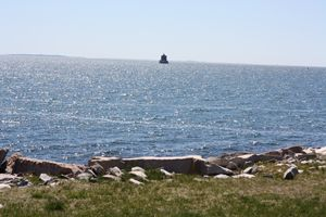 lighthouse on the sound