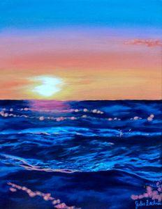 Ocean Breeze Sunset