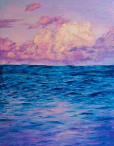 Purple Sunset Clouds