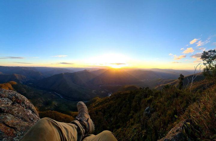 Amazing sunset landscape - Cait & Hayd