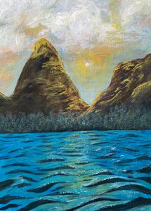 Seascape Mountains
