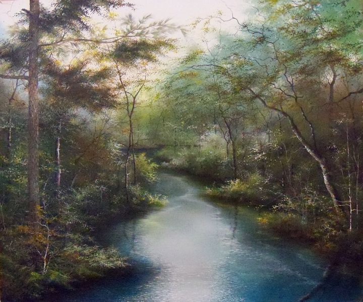 Crystal Creek - Creative Works of Jerry Sauls