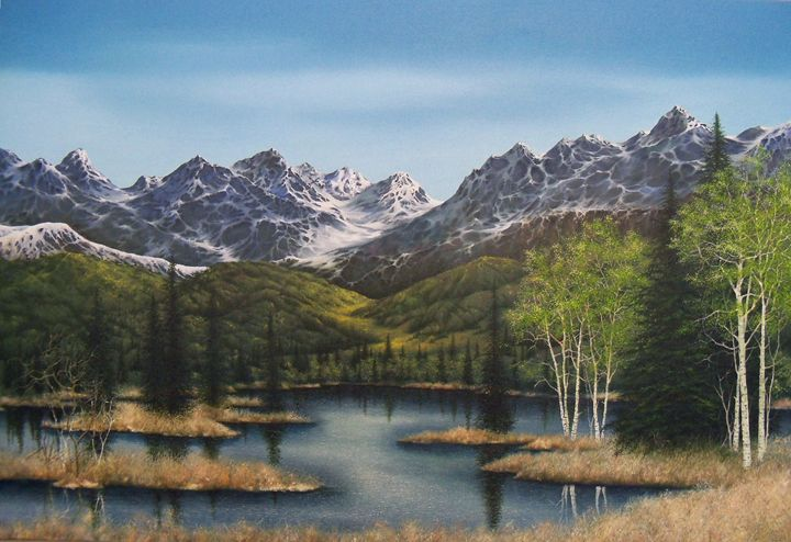 Frontier Spring - Creative Works of Jerry Sauls