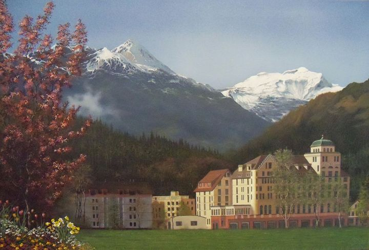 Gateway to the Alps - Creative Works of Jerry Sauls