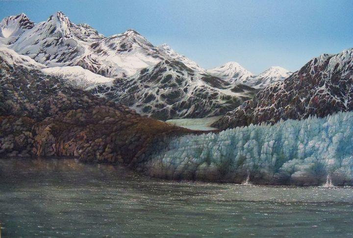 Glacier Bay Awakening - Creative Works of Jerry Sauls