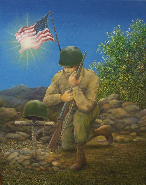 A Soldier's Goodbye - Creative Works of Jerry Sauls
