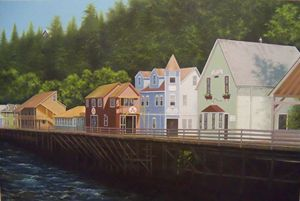 Ketchikan's Creek Street