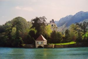 Lake Annecy Jewel - Creative Works of Jerry Sauls