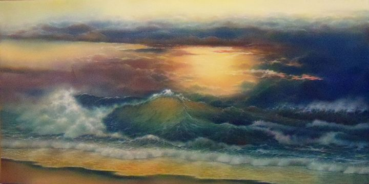 The Ultimate Sunset - Creative Works of Jerry Sauls