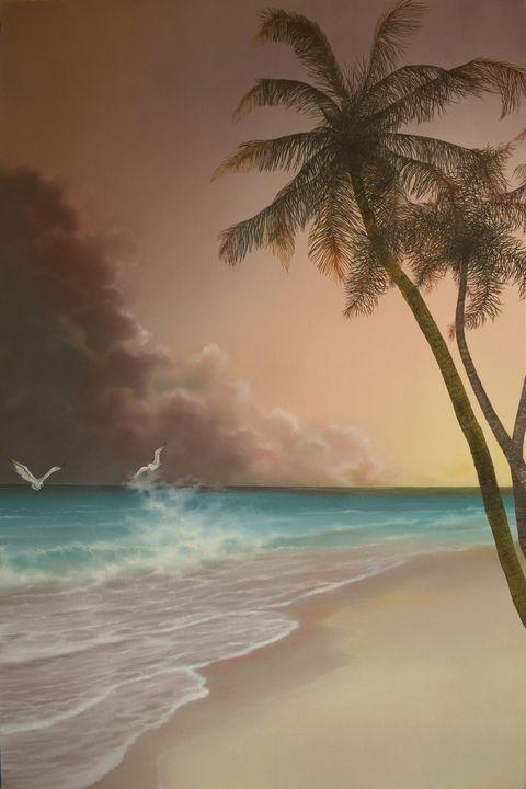 Island Palms - Creative Works of Jerry Sauls