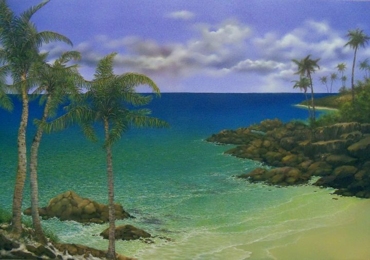 Along the Rocky Coast - Creative Works of Jerry Sauls