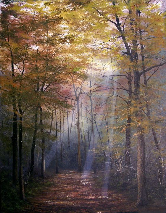 At Peace With Nature - Creative Works of Jerry Sauls
