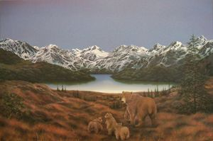 Bears of Denali - Creative Works of Jerry Sauls