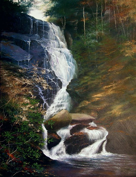 Carolina Falls - Creative Works of Jerry Sauls