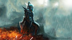 PHANTOM ASSASSIN ART DOTA 2