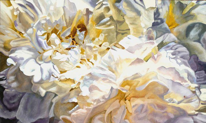 Peonies - Ron Harris Art