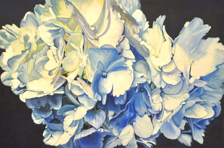 Hydrangeas #2 - Ron Harris Art