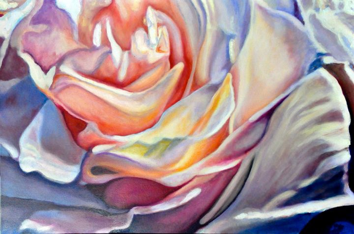 Gold Rose - Ron Harris Art