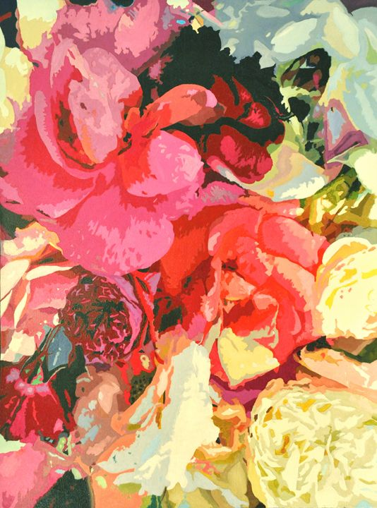 Pink Rose - Ron Harris Art