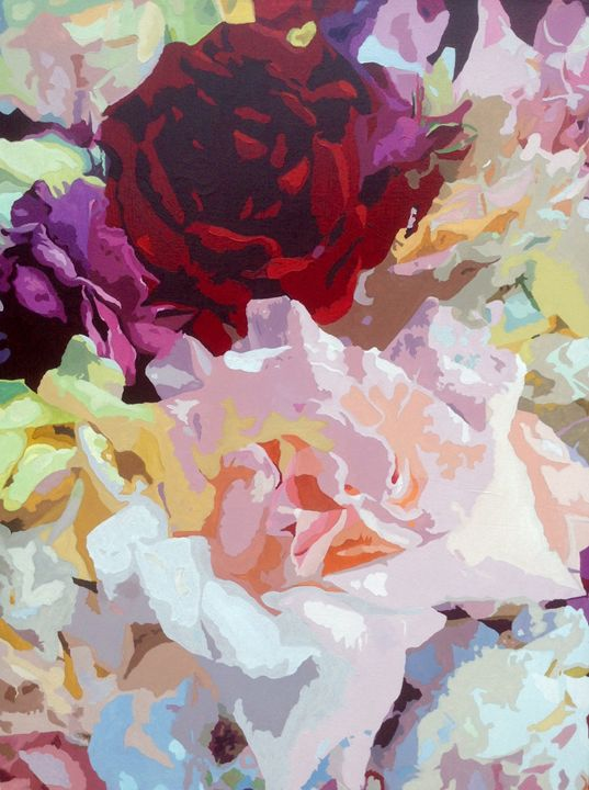 Red Rose - Ron Harris Art