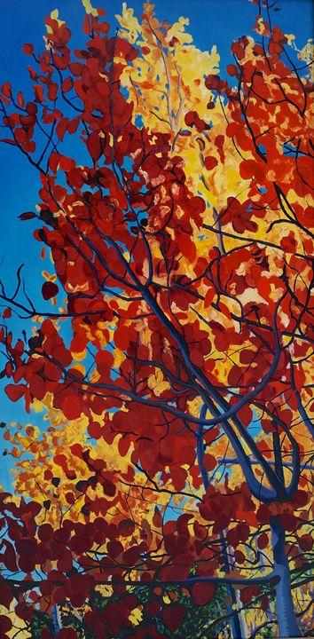 Falling - Ron Harris Art