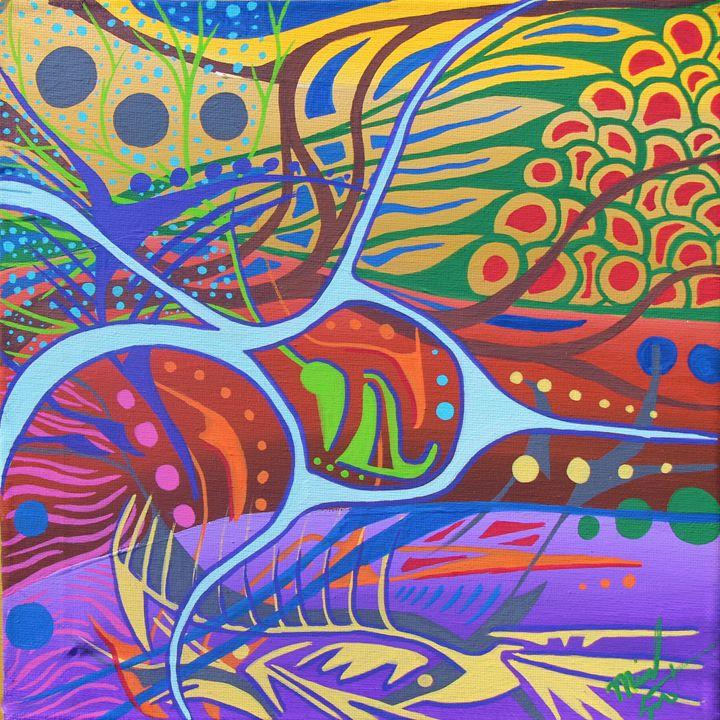 Native Tongue - Michael Lott Art