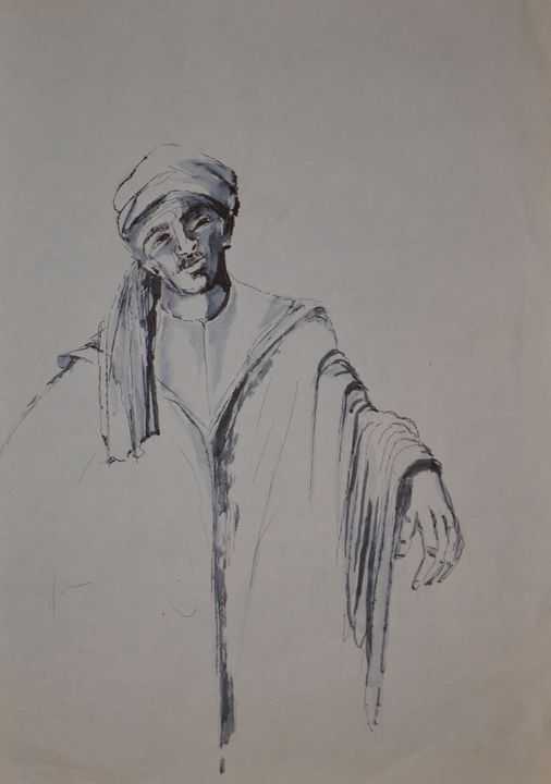 Maroccan man - Emile Haymoz