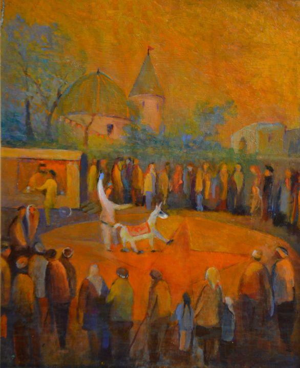 Circus in Russia - Emile Haymoz