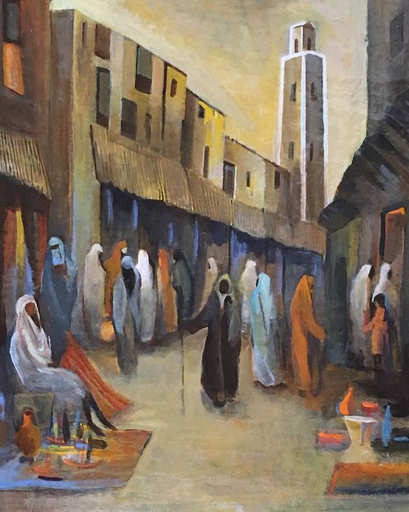 A medina in Marocco - Emile Haymoz