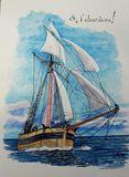 Côtre corsaire de Surcouf