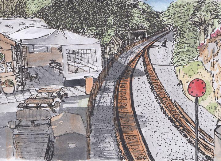 Tan-y-Bwlch Railway Station - Samuel H. Roberts