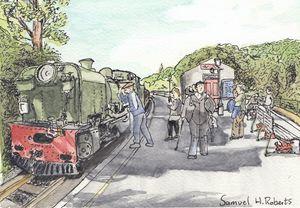 Welsh Mountain Railway - Samuel H. Roberts