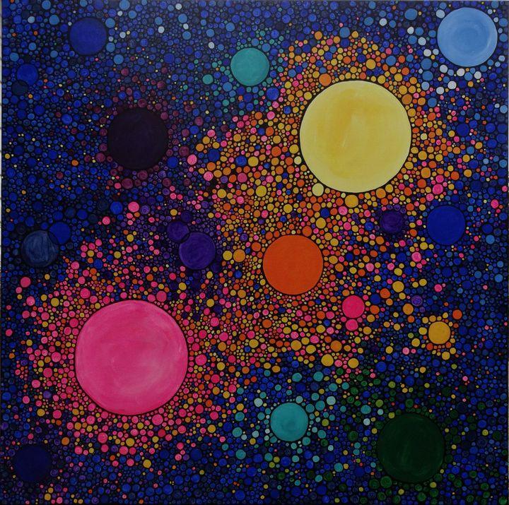Genesis - Her painted canvas