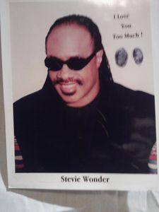 Kodak Photograph of Stevie Wonder .