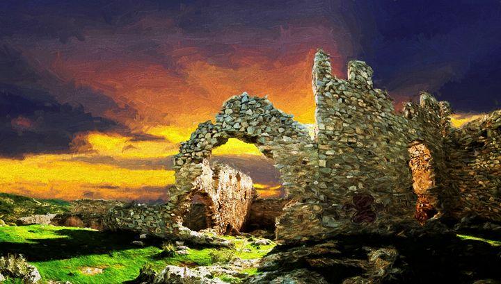 Oxi castle - Zeitlin Gallery