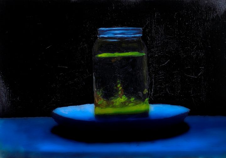 Jar of oil - Zeitlin Gallery
