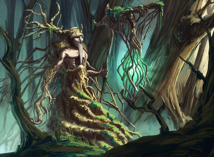 Leshy Spirit of the forest - Fantasy Arts