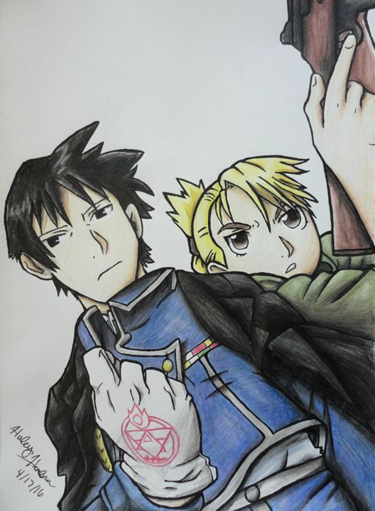 Roy and Risa - Haleyangelo Artwork