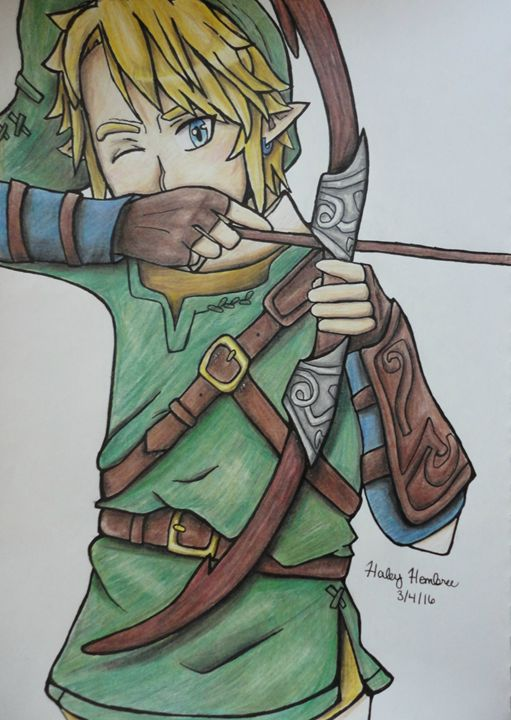 Link - Haleyangelo Artwork