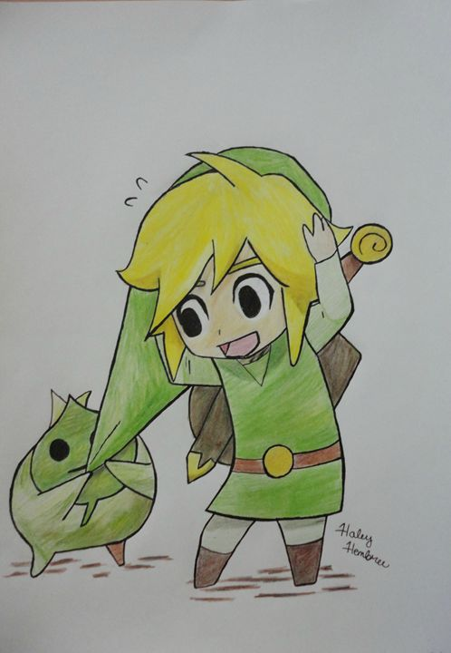 Link and Makar - Haleyangelo Artwork