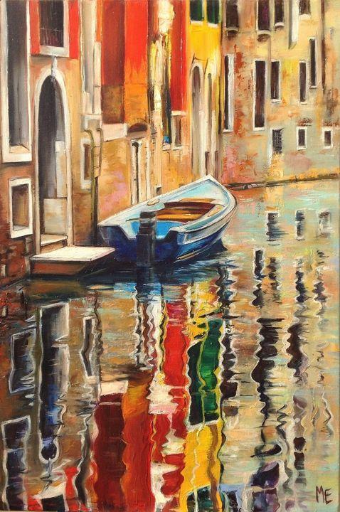 Sunny Day in Venice - Elena Artstyle