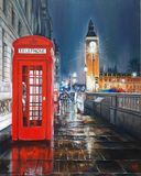 The red telephone box is undoubtedly