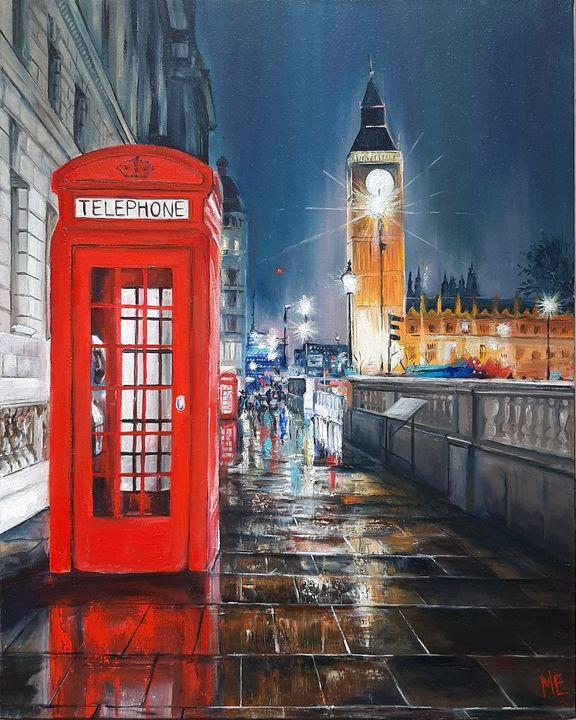 London at night - Elena Artstyle