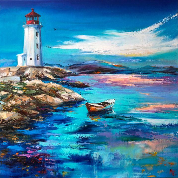 Light in the ocean - Elena Artstyle