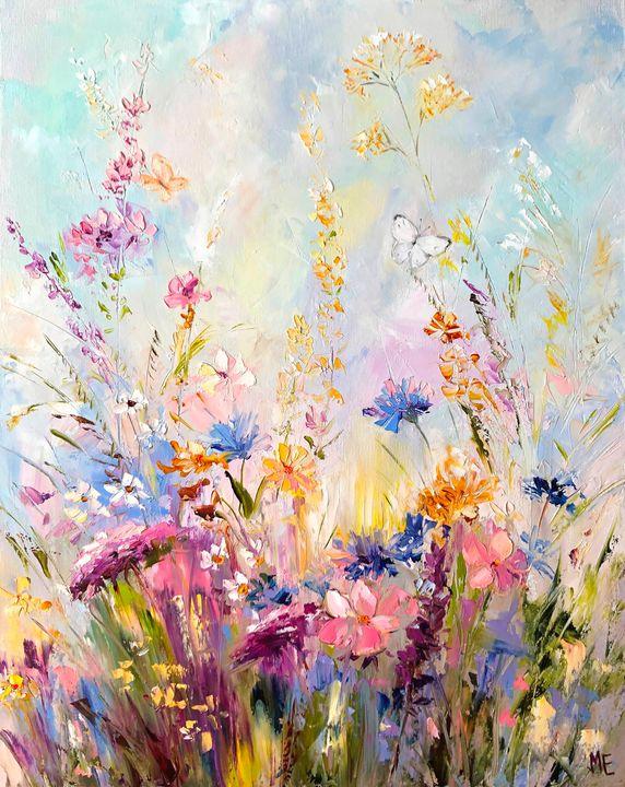Tenderness of fields - Elena Artstyle
