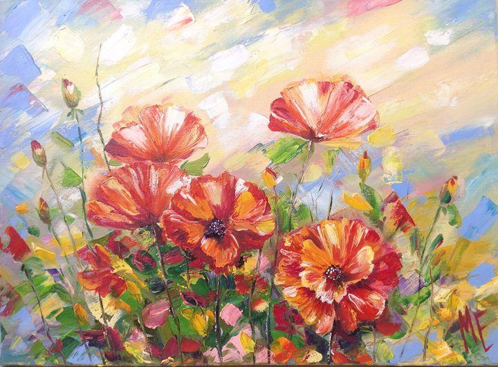 Poppy dawn - Elena Artstyle